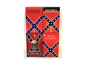 3115-REB Plastic Cigarette Case, Rebel South