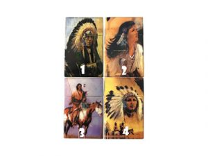 3117-IN Plastic Cigarette Case, American Indian