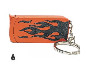 NL1874 Glitter Keychain Lighter