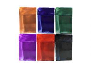 3115-M Plastic Cigarette Case, Marble Colors
