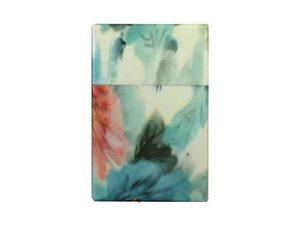 3117-F2 Plastic Cigarette Case, Flower Designs