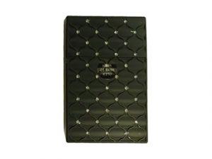 3117-M20 Plastic Cigarette Case, Rhinestone