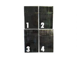 3117-W Plastic Cigarette Case, Wood Designs