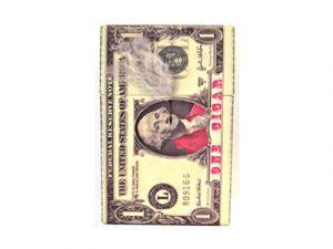 3114-MON Plastic Money Cigarette Case