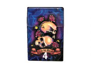3114-TAT3 Plastic Cigarette Case, Tattoo Design