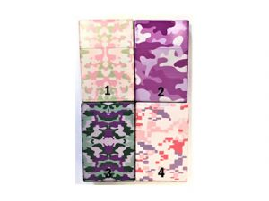 3116-CPINK Plastic Cigarette Case, Pink Camouflage