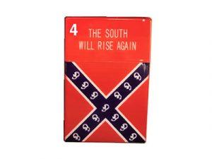 3116-REB Plastic Cigarette Case, Rebel South