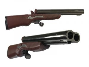 NL1238 Double Barrel Rifle Lighter