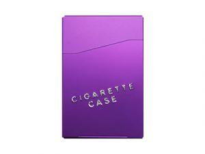 3118-SPO Aluminum Cigarette Case