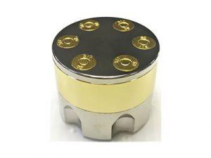 GR3BULLG Large Metal Grinder Gold Bullet