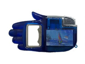 NL1579 Hand Bottle Opener Lighter