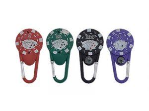 NL1672 Poker Chip Carabiner Lighter