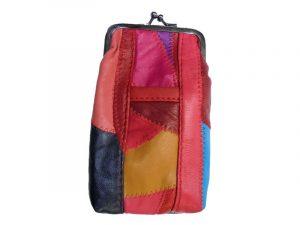 3202SMULTI Multi-Colored Leather Pouch