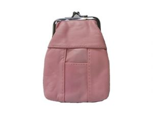 3202SPINK Pink Leather Pouch