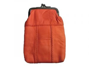 3202SRED Red Leather Pouch