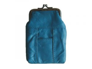 3204ATURQ Zipper and Snap Pouch