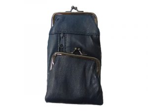 3212BLUE Deluxe Leather Pouch