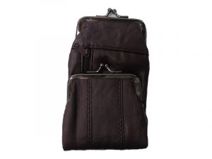 3212BURG Deluxe Leather Pouch