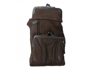 3212DBR Deluxe Leather Pouch