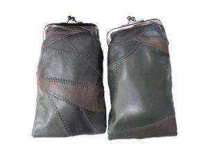 3212DARKMULTI Deluxe Leather Pouch