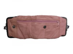3212PINK Deluxe Leather Pouch