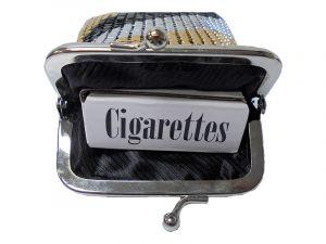 3233 Vinyl Mesh Cigarette Pouch