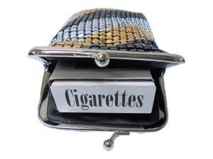 3235 Vinyl Mesh Cigarette Pouch