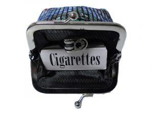 3237 Vinyl Mesh Cigarette Pouch