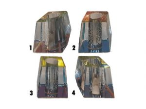BUTTGL1 Etched Glass Snuffer
