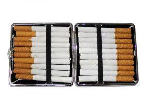 3102L20MIRROR Metal Cigarette Case