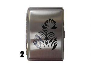 3102PICT Metal Cigarette Case